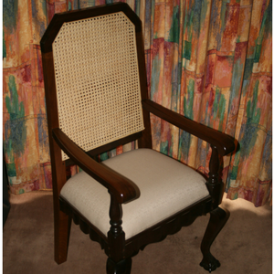Stinkwood chair fully restored