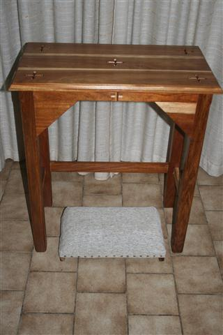 Prayer Table & kneeler
