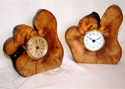 Natural log clock