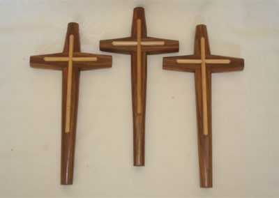 Wall hanging cross. Medium or small.